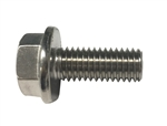 M8 - 1.25 x 20mm A2-70 Stainless Hex Flange Bolts
