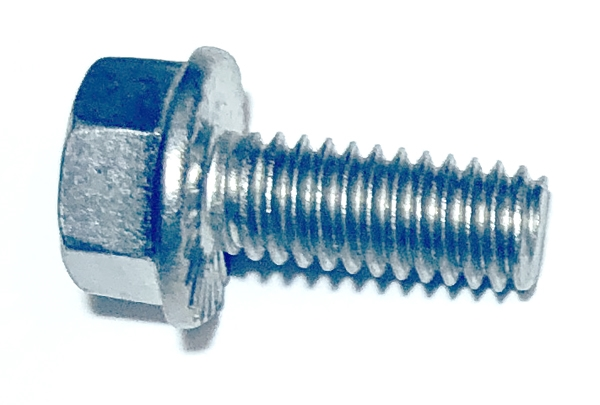 3//8-16x3//4 Hex Serrated Flange Screws 18-8 Stainless Steel 25