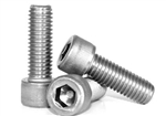 25 M6-1.00 x 45 MM (FT) Socket Head Cap Screws Stainless A2 (18-8)