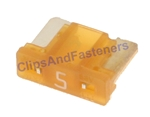 Low Profile ATM Mini Fuse - 5 Amps Tan