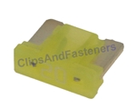 Low Profile ATM Mini Fuse - 20 Amps Yellow