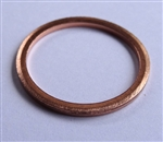 Copper Washer 20mm I.D. 24mm O.D. 1.5mm Thick