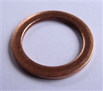 Copper Washer 19mm I.D. 26mm O.D. 2.0mm Thick