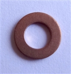 Copper Washer 4mm I.D. 8mm O.D. 1mm Thick