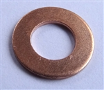 Copper Drain Plug Gasket 6mm X 12mm X 1.0mm