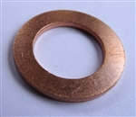 Copper Drain Plug Gaskets 15mm X 24mm X 2.0mm