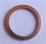 Copper Drain Plug Gaskets 10mm X 13.5mm X 1.0mm