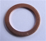 Copper Drain Plug Gaskets 10mm X 14mm X 1.0mm
