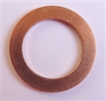 Copper Drain Plug Gaskets 16mm X 24mm X 1.5mm