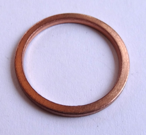 Copper Drain Plug Gaskets 18mm X 22mm X 1.5mm