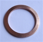 Copper Drain Plug Gaskets 18mm X 24mm X 1.5mm