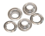 "Stainless Steel Grommets & Washers 1/4"" Size 0"