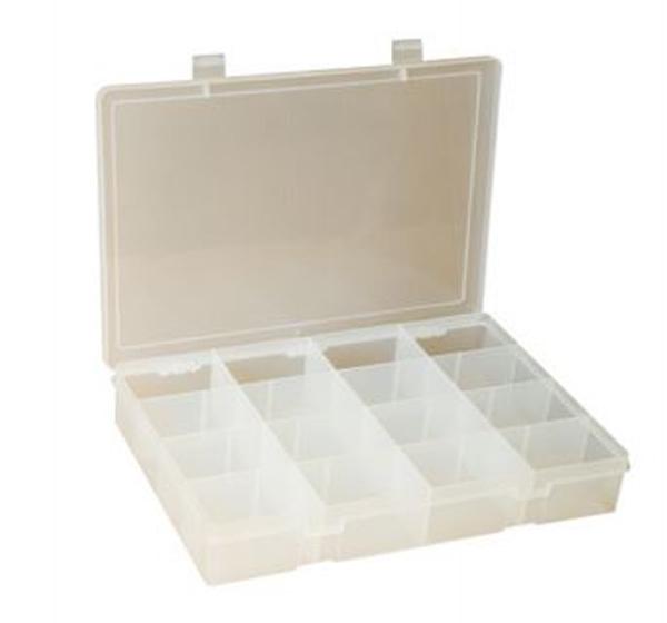 16 Compartment Large Plastic Box