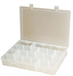 Adjustable Compartment Large Plastic Box