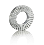 Wedge locking washer Carbon Stl Zinc flake coated thr. hard. M6 Lrg OD 20 glued pairs/pack