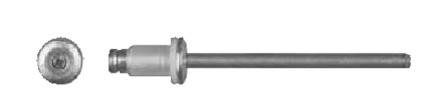 Swordfish 64912-25pc Aluminium Rivet for TOYOTA 90269-04047