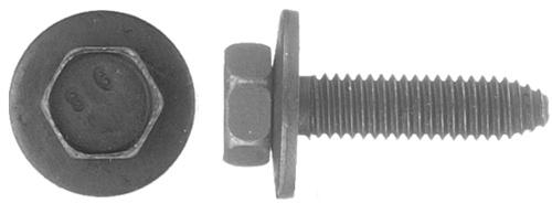 Type CA 25 M6-1.0 X 20mm Metric Hex Head Sems Bolts