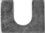 "Steel Body Shims 1/8"" Thick 3/4"" Slot"