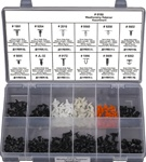 300 Pc. Weather Strip Retainer Assortment