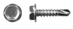 "Hex Head 10 X 3/4"" Zinc Self Drilling Tek Screws"