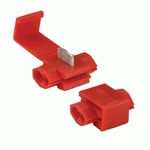 100 Scotch Lock Quick Splice Connectors Red 22-18 Gauge