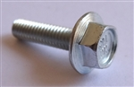 M4 - 0.7 x 16mm JIS Hex Head Flange Bolt - Small Head, Class 10.9 Zinc. JIS B 1189
