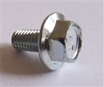 M 5 - 0.8 x 10mm JIS Hex Head Flange Bolt - Small Head, Class 10.9 Zinc. JIS B 1189