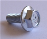 M 5 - 0.8 x 12mm JIS Hex Head Flange Bolt - Small Head, Class 10.9 Zinc. JIS B 1189