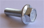 (25) M 5 - 0.8 x 16mm  JIS Hex Head Flange Bolt - Small Head, Class 10.9 Zinc.  JIS B 1189..