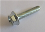 (25) M 5 - 0.8 x 25mm  JIS Hex Head Flange Bolt - Small Head, Class 10.9 Zinc.  JIS B 1189.