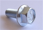 (25) M 8 - 1.25 x 20mm  JIS Hex Head Flange Bolt - Small Head, Class 10.9 Zinc.  JIS B 1189