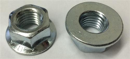 ISO 4161 DIN 6923 Non-Serrated Class 8 Zinc 5 M12-1.5 Hexagon Flange Nut