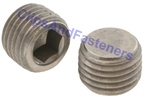 M8 - 1.0 Hexagon Socket Pipe Plugs Steel DIN 906