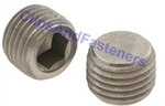 M10 - 1.0 Hexagon Socket Pipe Plugs Steel DIN 906