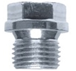 M12-1.25 Hexagon Head Drain Plug with Flange Steel Zinc. DIN 910