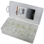 44 Piece Nylon Clamp Assortment in Plastic Kit