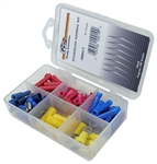 Solderless Terminal Assortment in Plastic Kit
