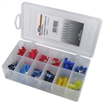 175 Piece Solderless Terminal Assortment in Plastic Kit