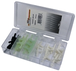 18 Piece Vacuum Line Connector Assortment in Plastic Kit