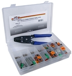 125 Piece Deutsch Assortment with Tool in Plastic Kit