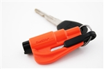 Res Q Me Emergency Rescue Escape Tool Keychain Orange