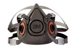 3M Half Face Respirator, Large, Reusable, 6300