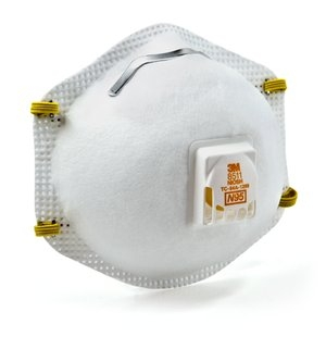 3m Exhalation 8511 With Respirator Valve N95 Particulate