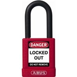 "ABUS Non-Conductive Padlock, 1.5"" Shackle, 09805"