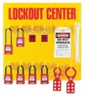 ABUS Electrical Lockout Wall Station Center K982