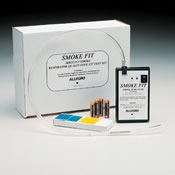 Irritant Smoke Respirator Fit Test Kit (Deluxe Pump) by Allegro (2055)