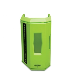 Hi-Viz Heavy Duty Emergency Respirator Wall Case