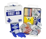 CSM First Aid Kit, 50 Person, Plastic