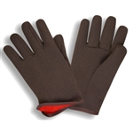 Cordova Red Lined Jersey Work Gloves, Large
