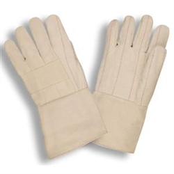 Cordova Hot Mill Gloves, Standard Weight, Gauntlet, Large, 2505